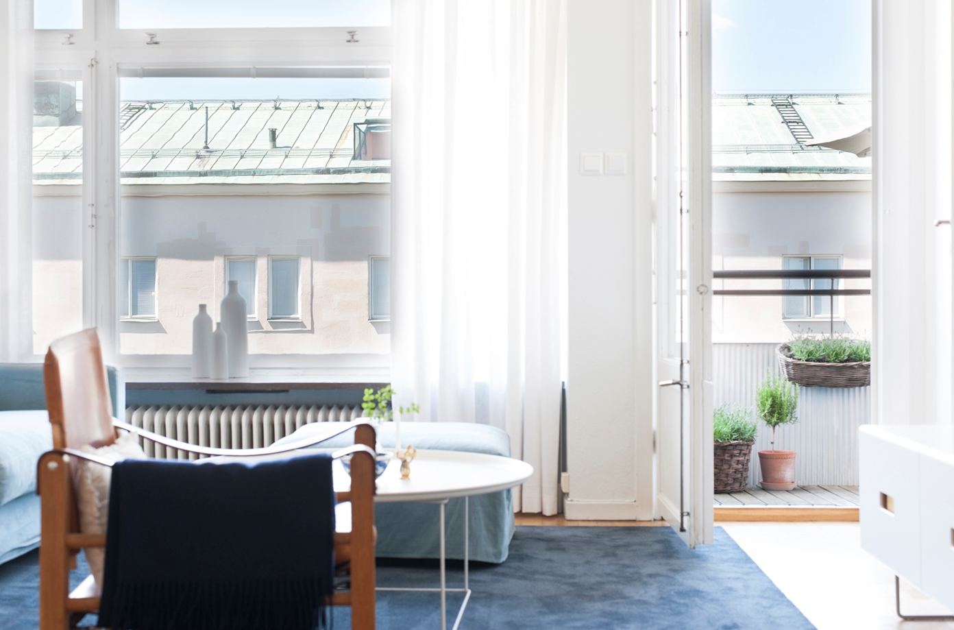 Högt läge – Härlig balkong – Toppskick