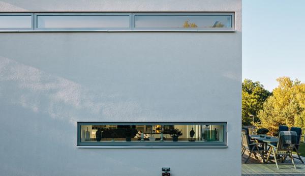 Arkitektritad familjevilla med högsta standard