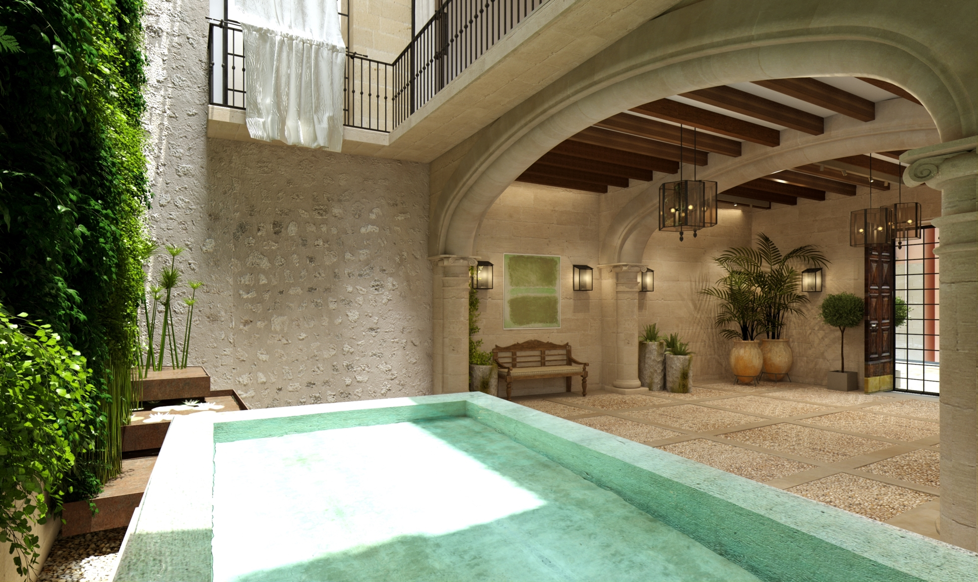 Penthouse – Pool – Rooftop terrace