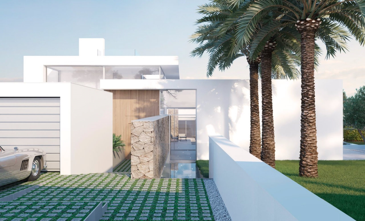 Mediterranean villa – Newly built – Close to sea