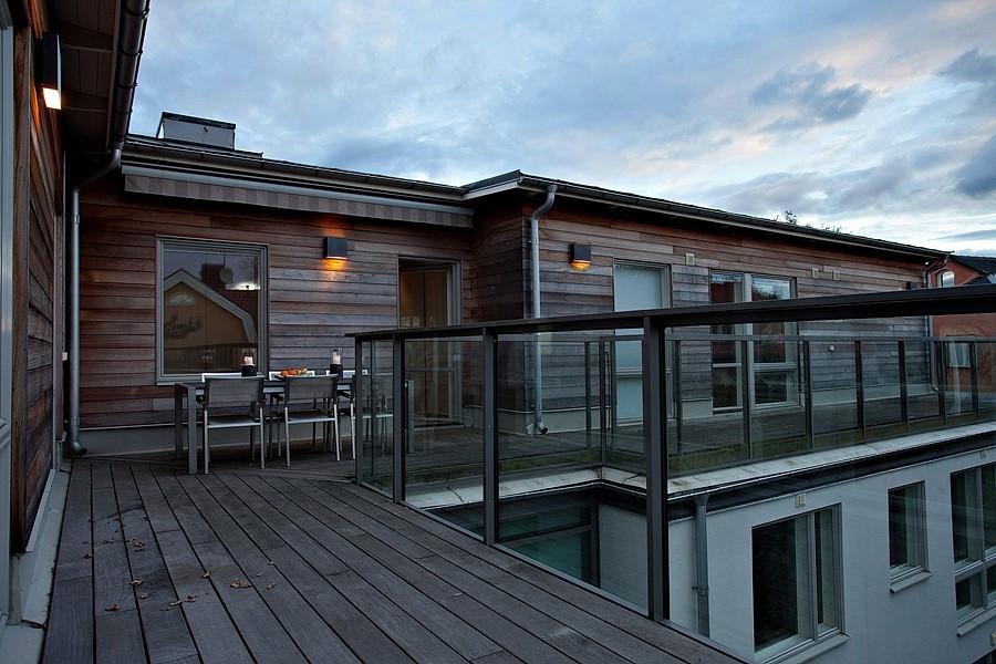 Penthouse – Panoramautsikt –  200 kvm terrass